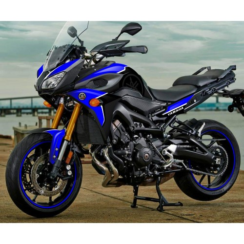 Kit decoration Blue edition - Yamaha MT-09 Tracer-idgrafix