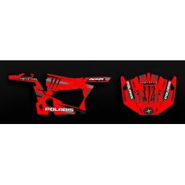 Kit decoration 100% Custom Monster Edition (Red) - IDgrafix - Polaris RZR 900