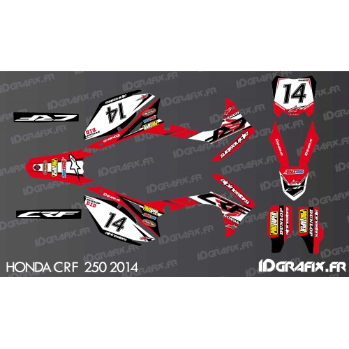 Kit décoration Honda Ltd Edition - Honda CR/CRF 125-250-450 -idgrafix