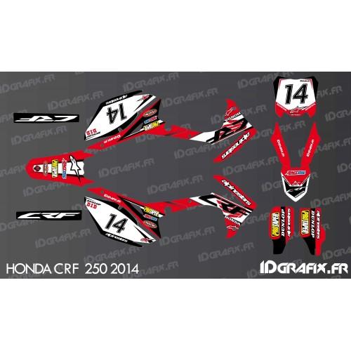 Kit de decoración de Honda Ltd Edition - Honda CR/CRF 125-250-450 -idgrafix