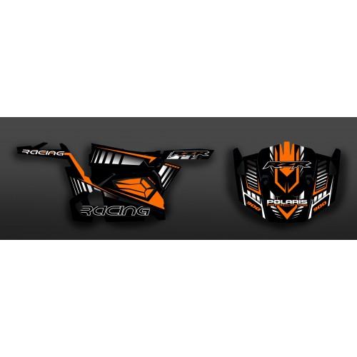 Kit de decoració Cursa Edició (Taronja) - IDgrafix - Polaris RZR 900 -idgrafix