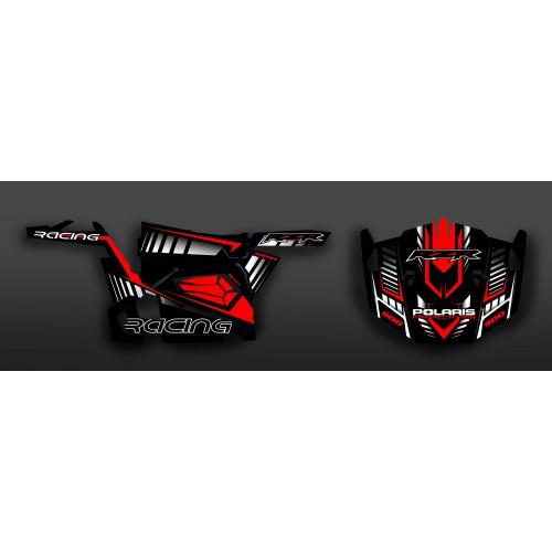 Kit de decoración de la Carrera de Edición (Rojo) - IDgrafix - Polaris RZR 900 -idgrafix