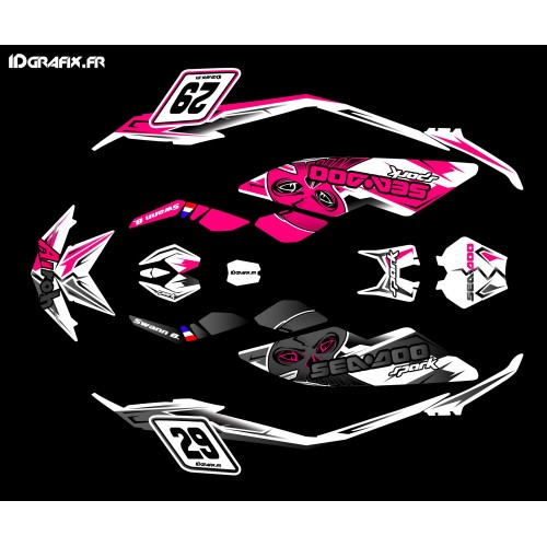 Kit decoration, Full Spark Airoh for Seadoo Spark - IDgrafix