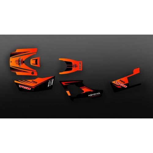 Kit décoration Monster Orange Edition (Full) - IDgrafix - TGB 1000 Blade - IDgrafix