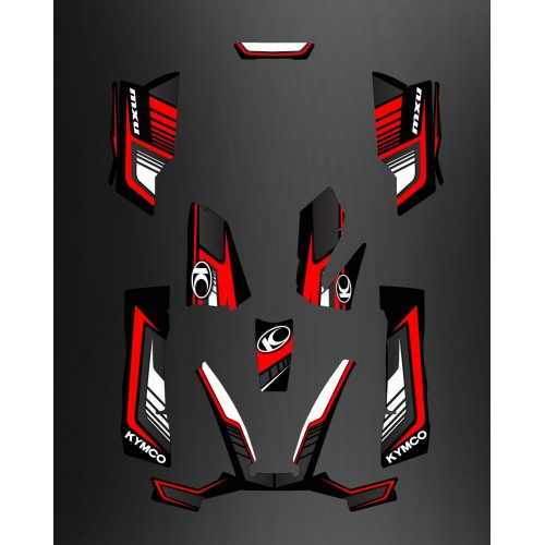 Kit-Deco-Limited Rot - Kymco arctic cat 550 / 700 MXU -idgrafix