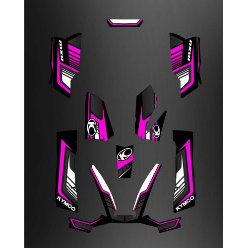 Kit Deco Limitata Rosa - Kymco 550 / 700 MXU -idgrafix