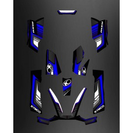 Kit Déco Limited Bleu - Kymco 550 / 700 MXU