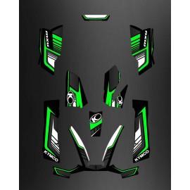 Kit Deco Limited Green - Kymco 550 / 700 MXU
