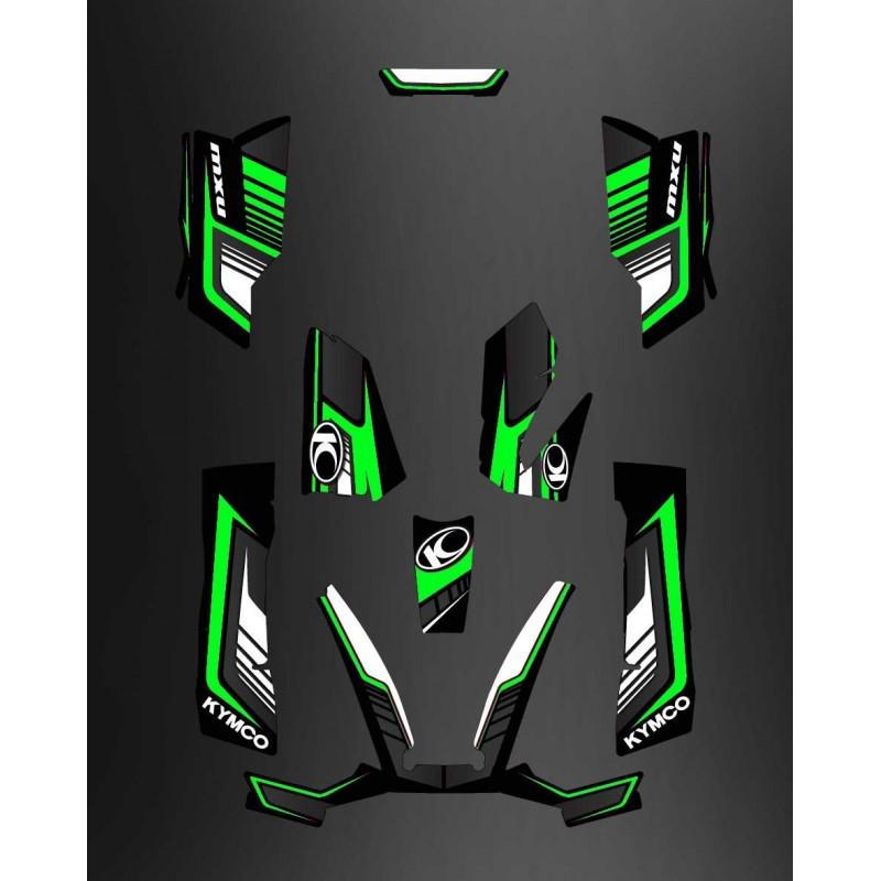 Kit Deco Limited Green - Kymco 550 / 700 MXU-idgrafix