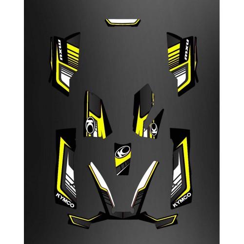 Kit Deco Limited Yellow - Kymco 550 / 700 MXU - IDgrafix