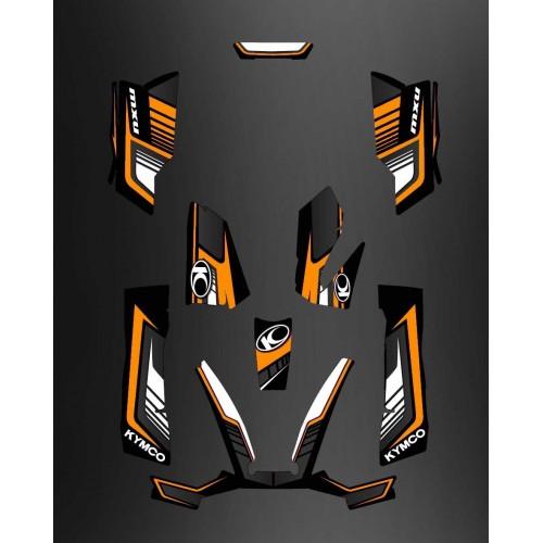 Kit Deco Limitata - Arancio Kymco 550 / 700 MXU -idgrafix
