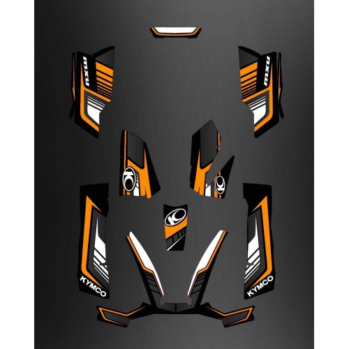 Kit Deco Limited Orange - Kymco arctic cat 550 / 700 MXU -idgrafix