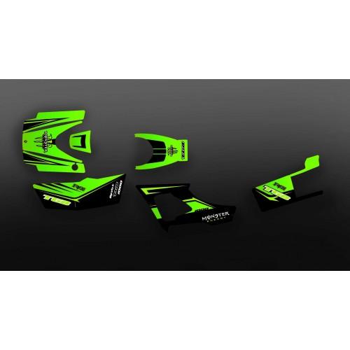 Kit décoration Monster Green Edition (Full) - IDgrafix - TGB 1000 Blade - IDgrafix