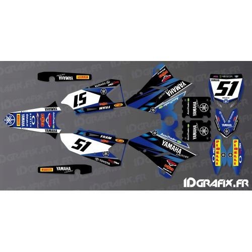 Kit decorazione Yamaha Factory Edition - Yamaha YZ/YZF 125-250-450 -idgrafix