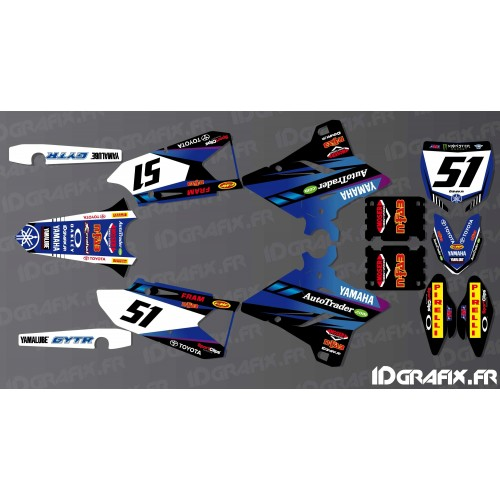 Kit dekor Justin Barcia 2016 AMA Edition - Yamaha YZ/YZF 125-250-450-idgrafix
