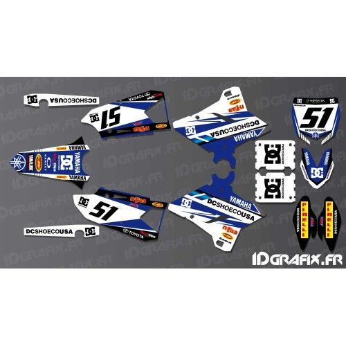 photo du kit décoration - Kit décoration DC Edition - Yamaha YZ/YZF 125-250-450