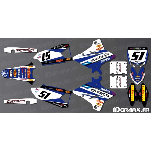 Kit décoration SX USA Edition - Yamaha YZ/YZF 125-250-450-idgrafix