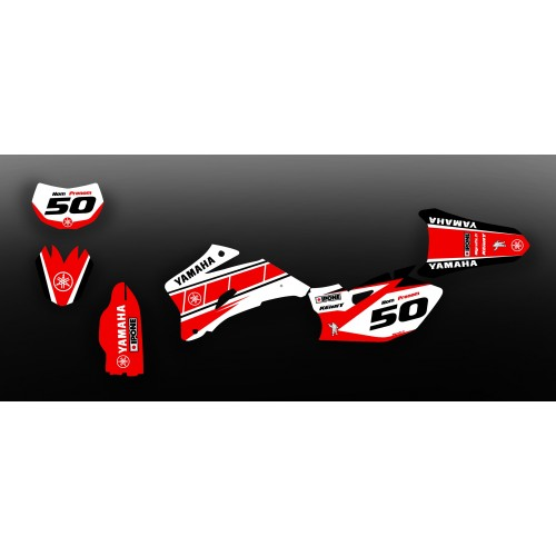 Kit de decoración Vintage Rojo Edición - Yamaha YZ/YZF 125-250-450 -idgrafix