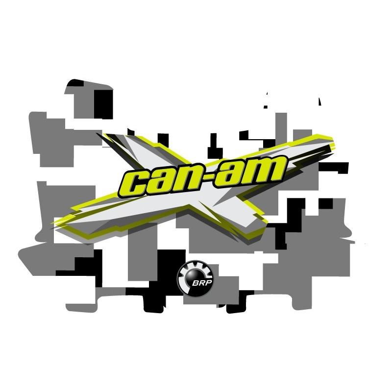 Kit de decoració CAMO DIGITAL Can-Am - arqueta AV BRP -idgrafix