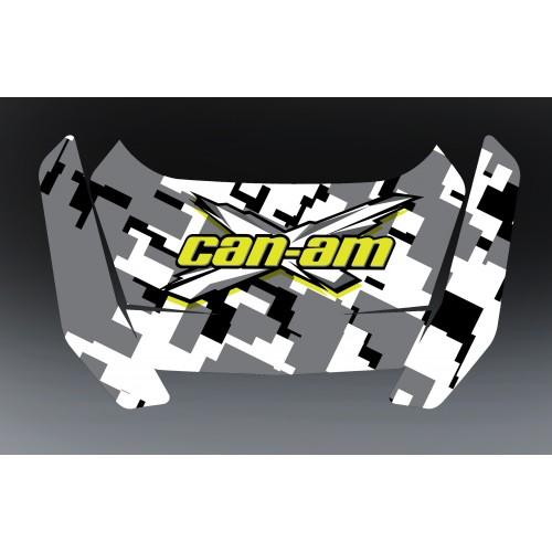 Kit décoration Can Am Digital - coffre origine BRP Full-idgrafix