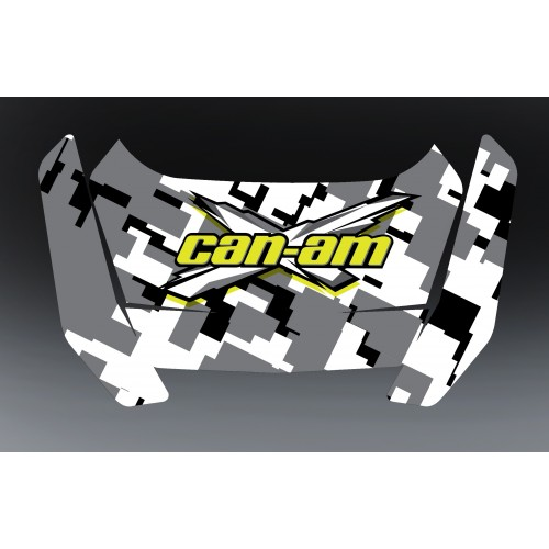 Kit de décoration Can Am Digital - caja fuerte BRP Total -idgrafix
