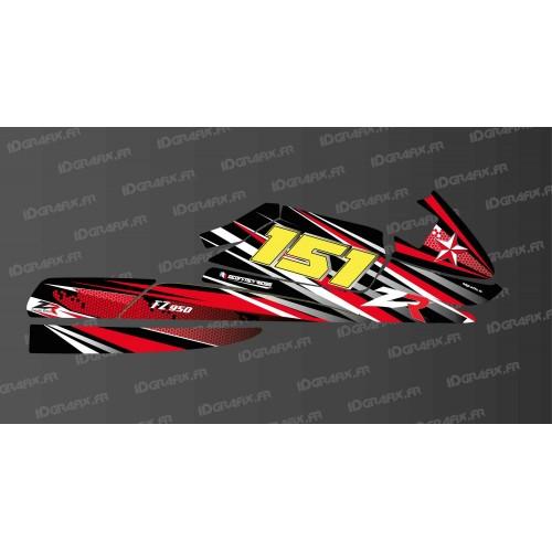 Kit decorazione Rosso LTD per Zapata FZ 950 -idgrafix