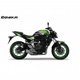 Kit decoration GP Series Green - IDgrafix - Yamaha MT-07