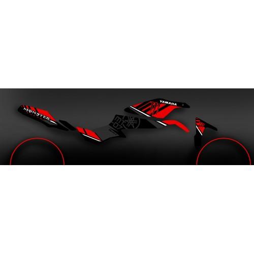 Kit decoration 100% Custom Monster red - IDgrafix - Yamaha MT-07 - IDgrafix