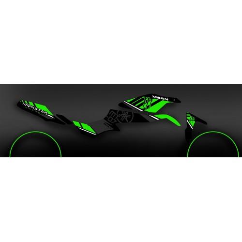 Kit de decoración 100% Personalizado Monstruo Verde - IDgrafix - Yamaha MT-07 -idgrafix