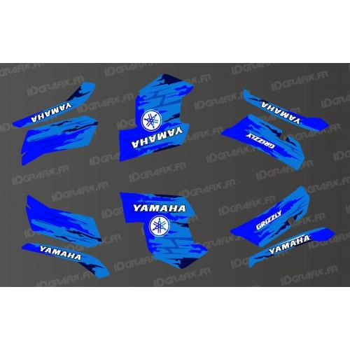 Kit de decoración LTD Azul - IDgrafix - Yamaha Grizzly 550-700 -idgrafix