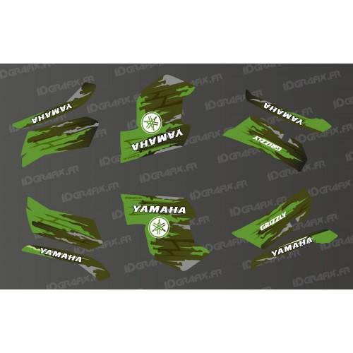Kit décoration LTD Vert - IDgrafix - Yamaha Grizzly 550-700-idgrafix