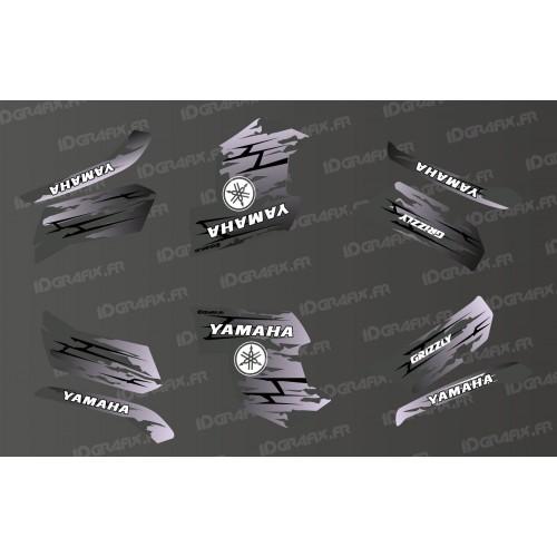 Kit décoration LTD Gris - IDgrafix - Yamaha Grizzly 550-700-idgrafix