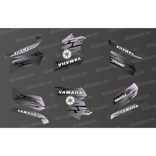 Kit decoration LTD Grey - IDgrafix - Yamaha Grizzly 550-700-idgrafix