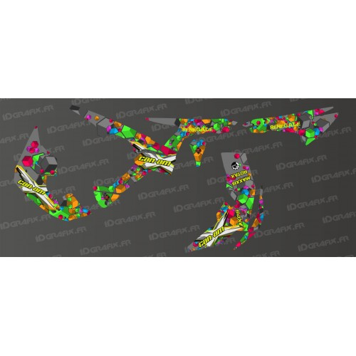 Kit de decoració Cadell Sèrie Completa IDgrafix - Am Renegade -idgrafix