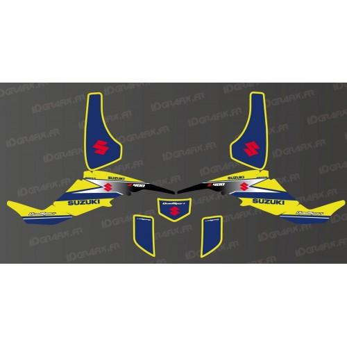Kit de decoració de Carreres Equip Groc - IDgrafix - Suzuki LTZ 400