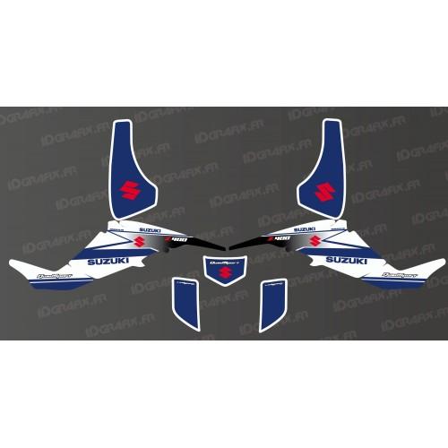 Kit decorazione Racing Team-Bianco - IDgrafix - Suzuki LTZ 400 -idgrafix