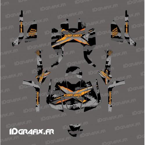 Kit decorazione Strappare serie (Grigio) - IDgrafix - Can Am Outlander G2