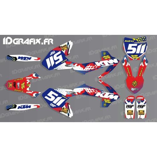 Kit décoration 100% Perso - KTM SX 50-65-85-idgrafix
