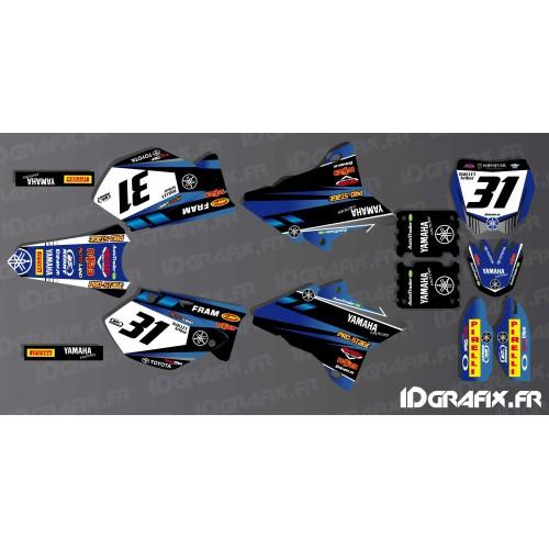 Kit dekor Custom - Yamaha YZ -- M. BAILLET -idgrafix