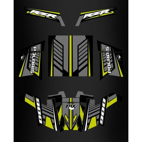 Kit dekor, Fox Edition - IDgrafix - Polaris RZR 900 XP -idgrafix