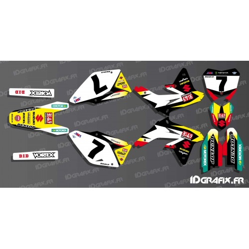Kit deco US AMA Stewart series for Suzuki RM/RMZ - IDgrafix