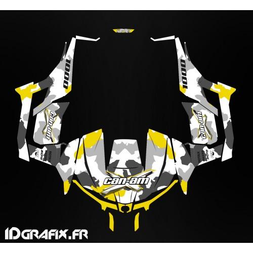 Kit de decoración de Ejército de la serie (Amarillo) - Idgrafix - Can Am 1000 Maverick -idgrafix
