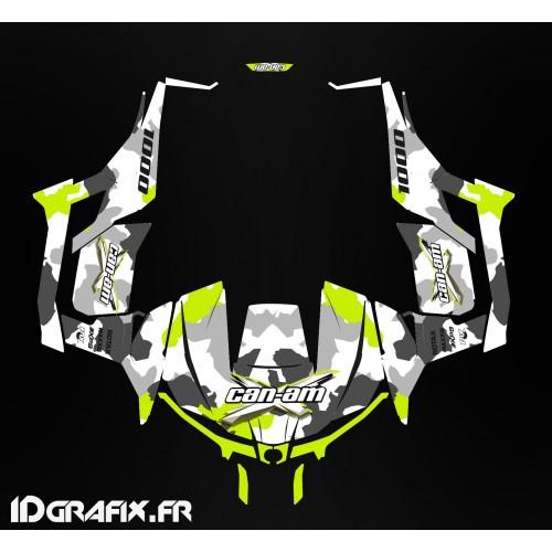 Kit dekor Army series Gelb (Turbo) - Idgrafix - Can Am Maverick 1000 -idgrafix