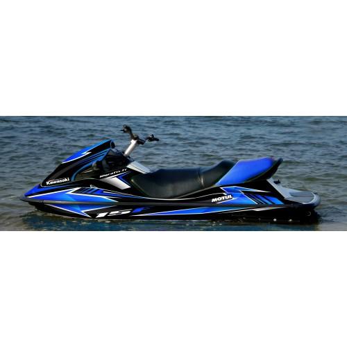 Kit dekor Race series (Blau) für Kawasaki STX-15F -idgrafix