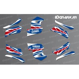 Kit décoration Race Yamaha (bleu)- IDgrafix - Yamaha Grizzly 550-700