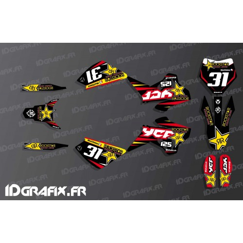 Kit décoration 100% Perso Rockstar - YCF 125 SP2-idgrafix