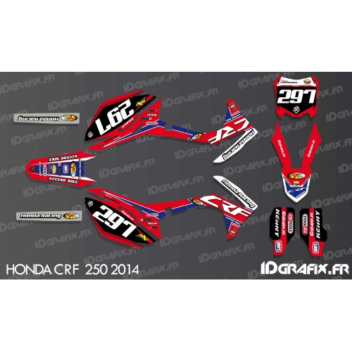 Kit décoration CRF Réplica - Honda CR/CRF 125-250-450-idgrafix
