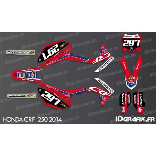 Kit de decoración de IRC Réplica - Honda CR/CRF 125-250-450 -idgrafix