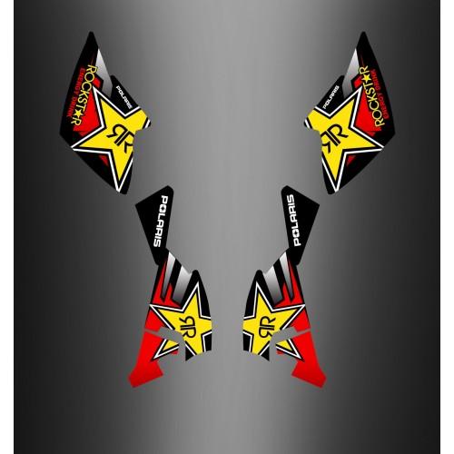 Kit-deco-100 % Persönlich für Polaris Outlaw -idgrafix