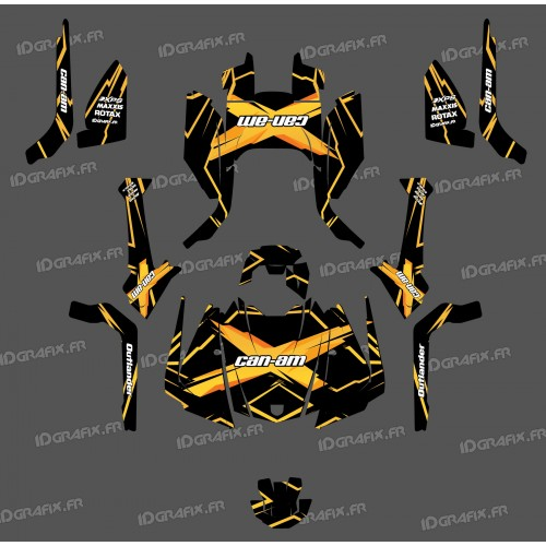 Kit decoration Feature Edition (Yellow) - IDgrafix - Can Am Outlander G2 - IDgrafix